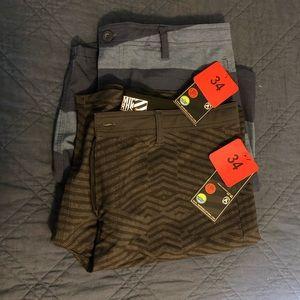 Men's Wet/Dry Shorts - 2 pair